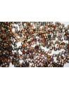 Matubo Beads Magic Line-Orange/Grey 7/0 - 10g