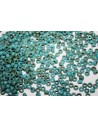 Matubo Beads Blue Turquoise-Picasso Silver 7/0 - 10g