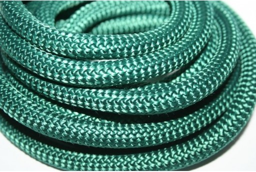 Climbing Cord Verde Petrolio 10mm - 1mt
