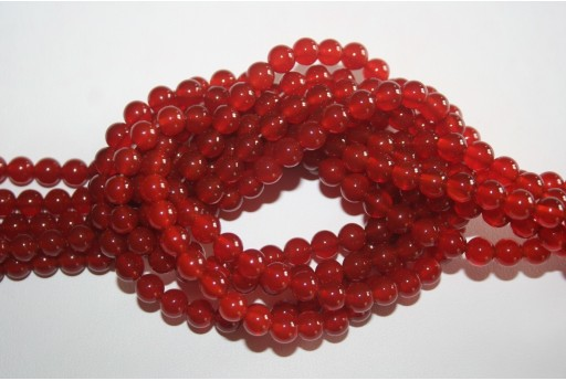 Cornelian Beads Sphere 6mm - 64pz