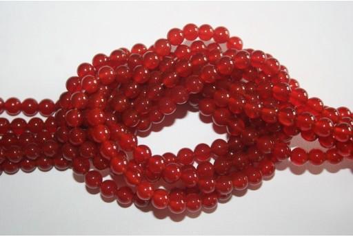Cornelian Beads Sphere 6mm - 64pz