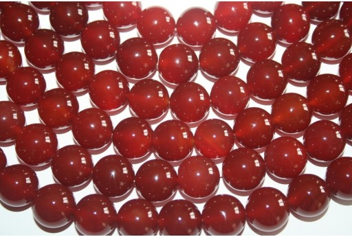Cornelian Beads Sphere 16mm - 24pz