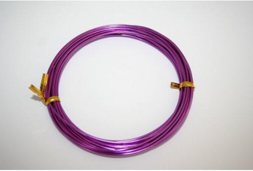 Aluminium Wire 1,5mm Violet - 6m
