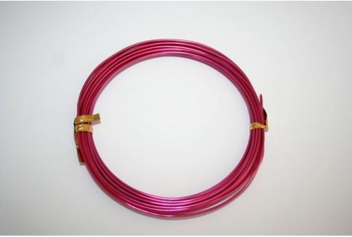 Aluminium Wire 1,5mm Magenta - 6m