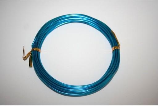 Filo di Alluminio Azzurro 1,5mm - 6mt