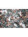 10 Gr.. BI-BO Beads Beads Aqua Capri Gold 5, 5 x 2, 8 mm Col. 27101