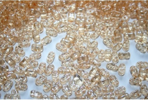 10 Gr.. BI-BO Beads Crystal Beads Orange Luster 5, 5 x 2, 8 mm Col. 14413