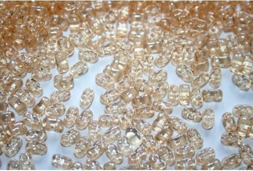 10 Gr.. BI-BO Beads Crystal Beads Orange Luster 5, 5 x 2, 8 mm Col. 14413