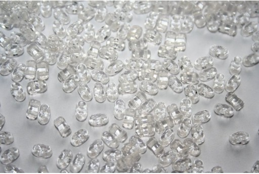 10 Gr.. BI-BO Beads Beads Crystal 8 mm 5, 5 x 2, Col. 00030