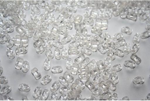 10 Gr.. BI-BO Beads Beads Crystal 8 mm 5, 5 x 2, Col. 00030