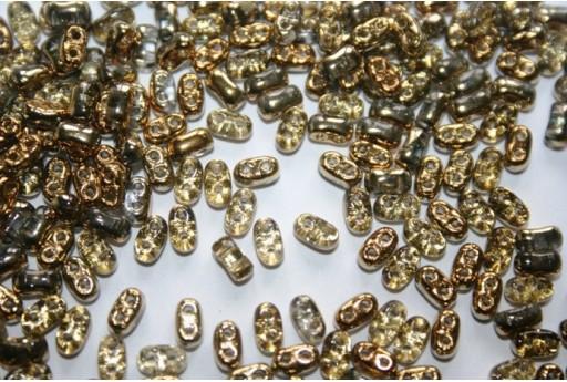 10 Gr.. BI-BO Beads Beads Amber 5, 5 x 2, 8 mm Col. 26441