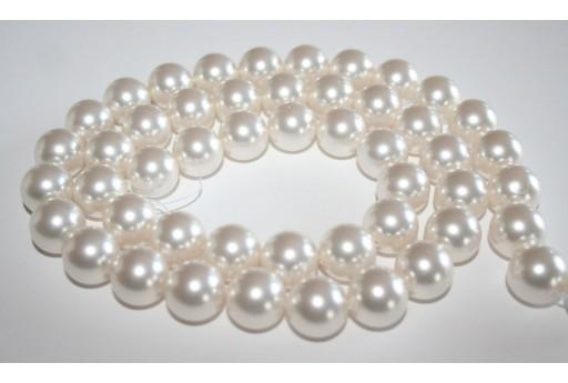2 Swarovski Crystal White Pearl 14 mm S581114650