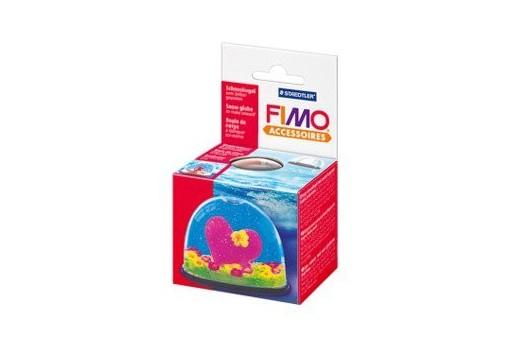 Fimo Snow Globe 70x52mm