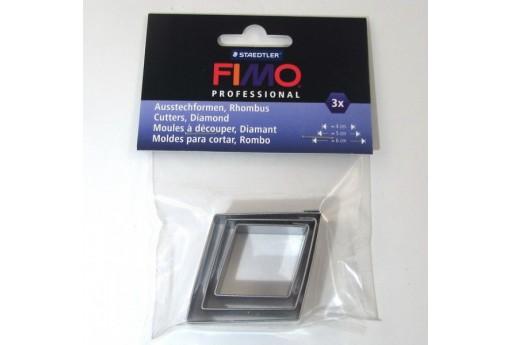 Fimo Stampi in Metallo Rombo