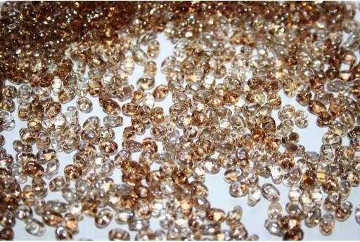 Perline Miniduo Twilight-Crystal 4x2,5mm - 10gr