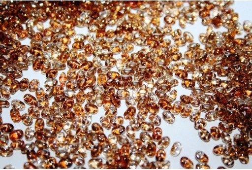 Miniduo Beads Crystal-Celsian 4x2,5mm - 10gr