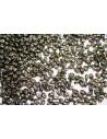 Perline Miniduo Jet-Bronze Picasso 4x2,5mm - 10gr