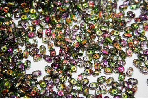 Miniduo Beads Magic Line Orchid 4x2,5mm - 10gr