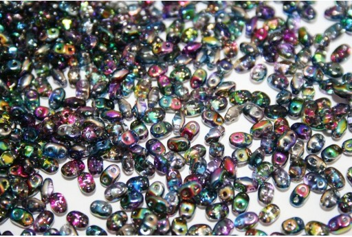 Miniduo Beads Magic Line Blue 4x2,5mm - 10gr
