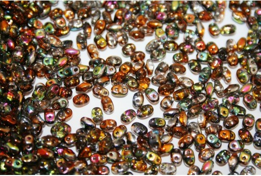 Miniduo Beads Magic Line Copper 4x2,5mm - 10gr