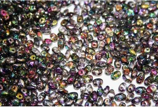Miniduo Beads Magic Line Purple 4x2,5mm - 10gr