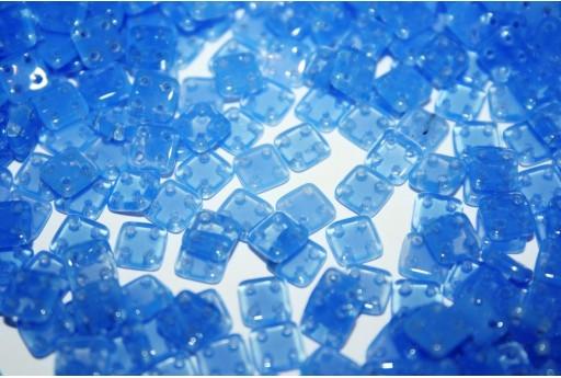 Perline Quadra Tile Opal Sapphire 6mm - 5gr
