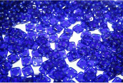 QuadraTile Beads Cobalt 6mm - 5gr