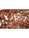 Perline Quadra Tile Matte Metallic Bronze Copper 6mm - 5gr