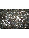 QuadraLentil Beads Iris Brown 6mm - 5gr