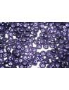 QuadraLentil Beads Metallic Suede-Purple 6mm - 5gr