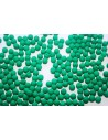 Neon Glass Beads Dark Emerald 4mm - 75pz