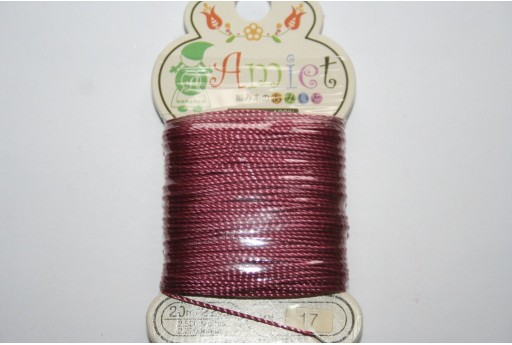 Toho AMIET Beading Thread 0,6mm Ligt Burgundy - 20m