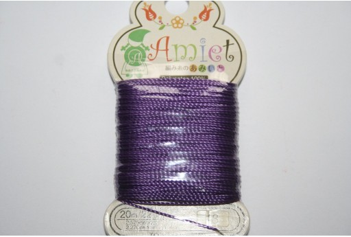 Filo Amiet Toho Viola 0,6mm - 20mt