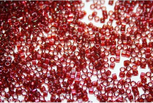 Perline Delica Miyuki Gold Luster Transparent Red 11/0 - 8gr