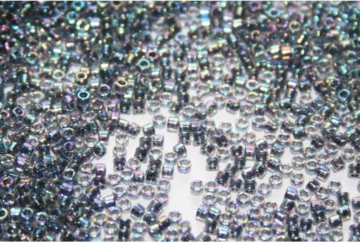 Perline Delica Miyuki Lined Dark Blue AB 11/0 - 8gr