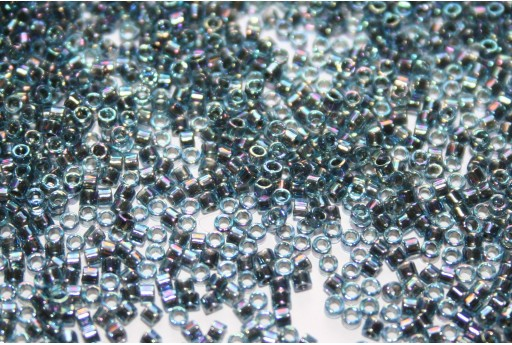 Miyuki Delica Beads Lined Blue AB 11/0 - 8gr
