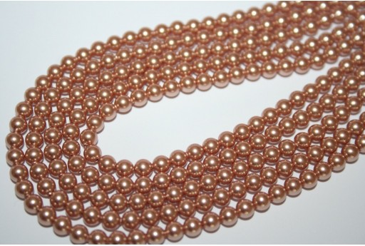 Perle Swarovski Rose Gold 5810 4mm - 20pz