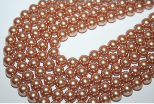 Perle Swarovski Rose Gold 6mm - 12pz