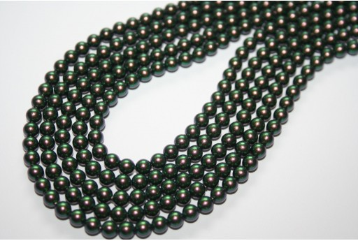 Swarovski Pearls Crystal Scarabaeus Green 5810 4mm - 20pcs
