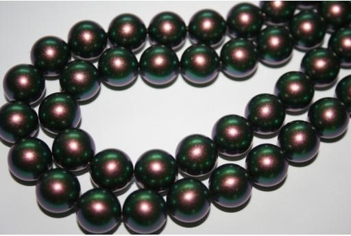 Perle Swarovski Scarabaeus Green 5810 12mm - 2pz