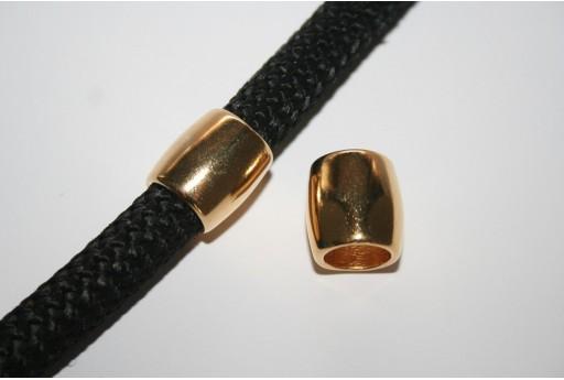 Componente Climbing  Rondella Ovale Oro 15x16mm - 1pz