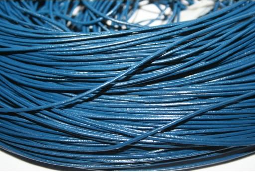 Filo di Cuoio Blue 1mm - 2mt