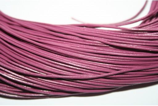 Filo di Cuoio Viola 1mm - 2mt