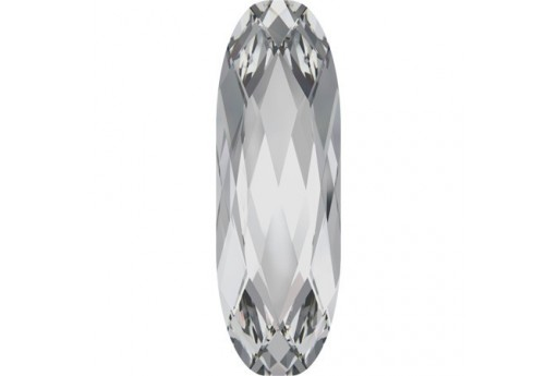 Swarovski Cabochon Long Classical Oval Crystal 27x9mm - 1pz