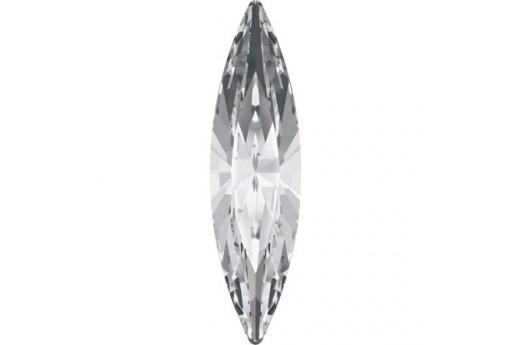 Swarovski Cabochon Navette Crystal 35x9,5mm - 1pz