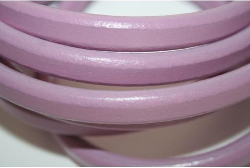Regaliz Leather Cord 7x10cm, Lilac 20cm, MIN169F