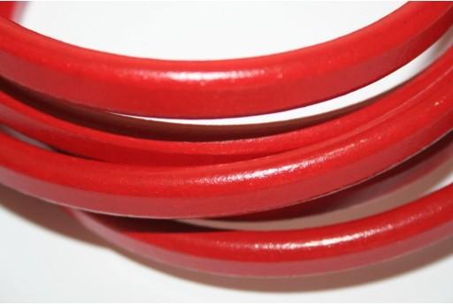Cuoio Regaliz Rosso 7x10mm -  20cm