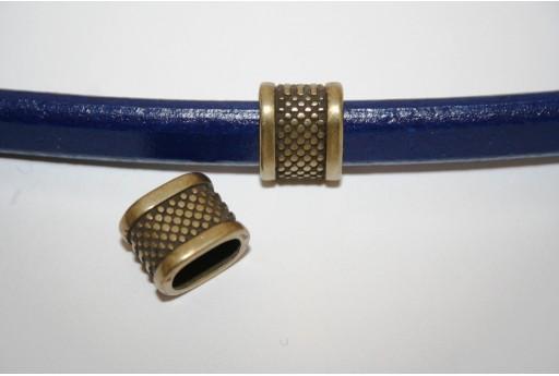 Rondella Regaliz Tubo Colore Bronzo 11x14mm - 1pz
