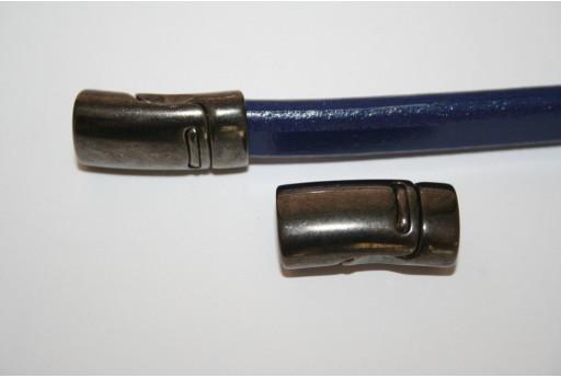 Chiusura Magnetica Colore Gunmetal 13x25mm - 1pz