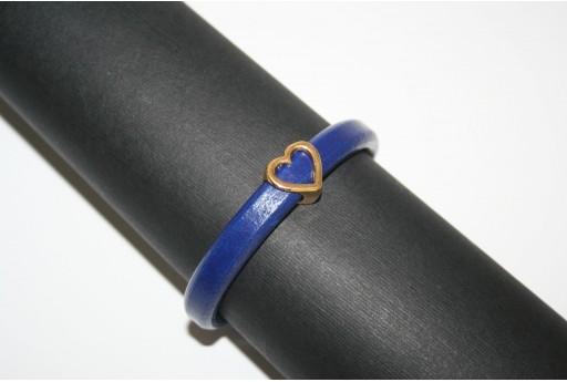 Kit Bracciale Cuoio Regaliz Blue
